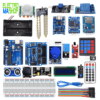 1 * arduino uno 1 * alimentation 1 * BreadBoard 820 1 * Capteur DHT11 1 * capteur de flamme 1 * Module Rtc ds3232 1 * Capteur ultrason hc-sr04 1 * Capteur pir hc-sr05 1 * Module joystick 1 * Module rec-infrarouge hx1838 + telecommande 1 * Module RFID complet 1 * Afficheur lcd 1602+i2c 1 * clavie 4*4 1 * Shield module Pour arduino uno 1 * support Pour 2 Piles 18650 1 * Module relais 5v 1 * Module hygrometre 1 * Module sd card 1 * Module charge circuit 1 * boitier plastique