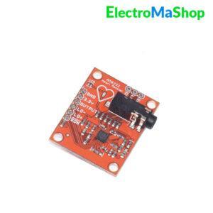 Kit AD8232 ECG de fréquence cardiaque pour Arduino